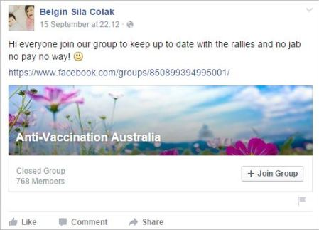 Belgin 72 antivax australia share in Sydney protest2