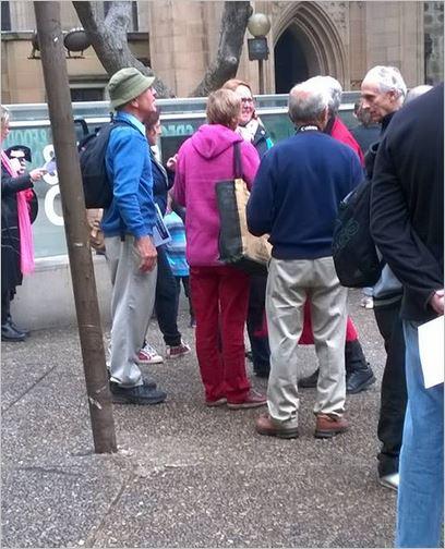 Bodnar 35 Sydney protest