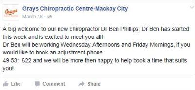 Le Coz 4 Ben Phillips working at Mackay Grays