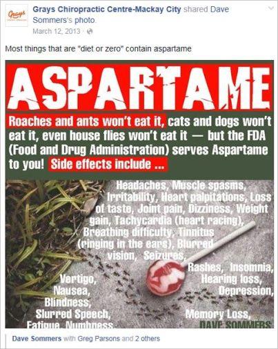 Le Coz 47 aspartame