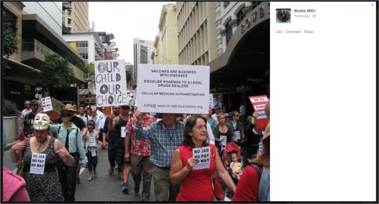 Protest2 10 Brisbane