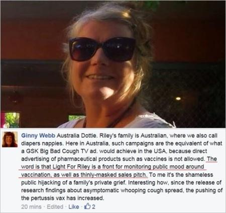 VRM 6 Ginny Webb Riley thinly masked sales pitch