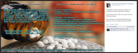 Mong 40 Bondi Acupuncture homeopathy safe treatment