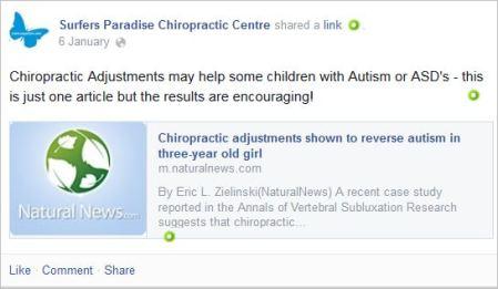Whittingham 5 vaccines treat autism Nat News