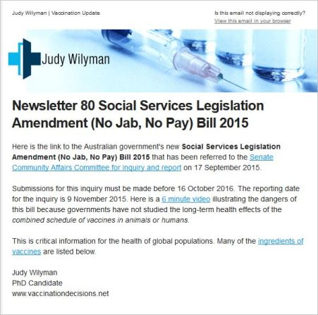 Wilyman 136 Newsletter 180 from website link