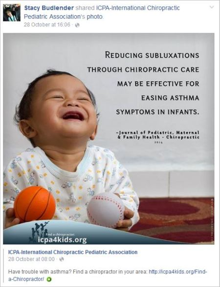 Budlender 16 profile asthma cured by chiro