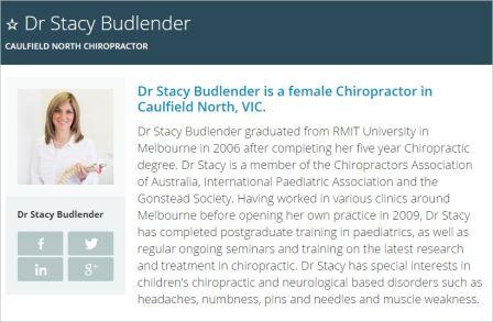 Budlender 20 CAA ICPA Gonstead member Health Engine