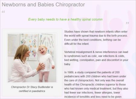 Budlender 9 website ear infections colds bedwetting tonsilitis etc