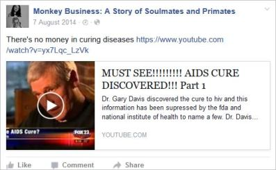 Coleman 32 MB AIDS cure YT