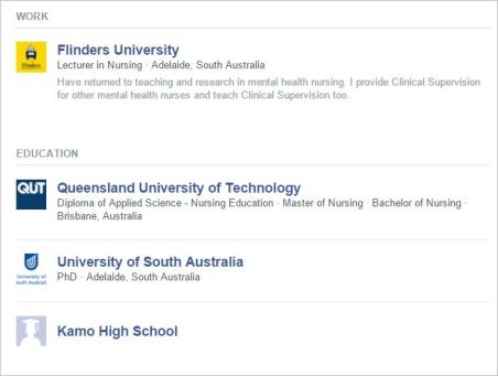 Palmer 2 profile about Flinders lecturer