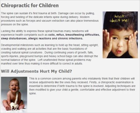 Panetta 5 birth trauma infections allergies colic reflux website