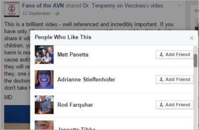 Panetta 7 AVN Tenpenny video liked