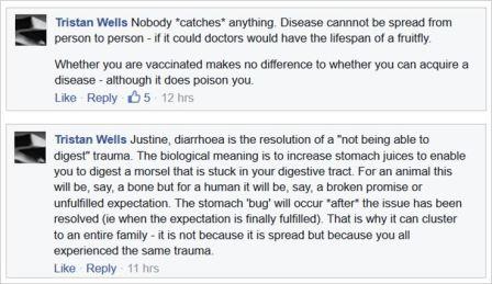 Wells 5 VRM digetion trauma no one catches any disease
