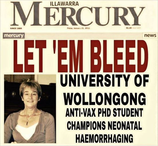 Wilyman 155 digitally altered newspaper front page
