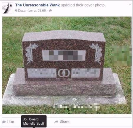 UW 12 headstone pixelated