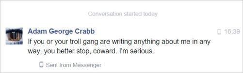 Crabb 34 PM coward January 16 2016