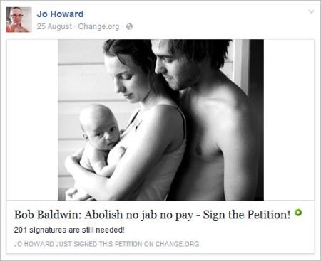 Howard 50 petition NJNP abolish