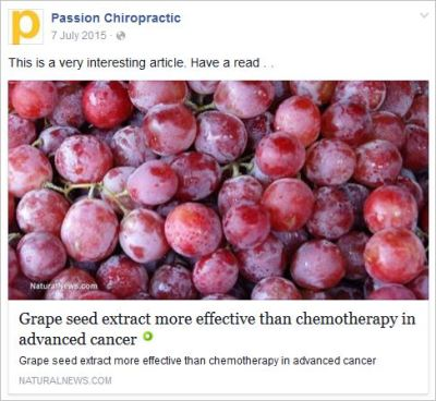 Owen 15 grape seeds cancer NN