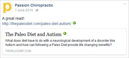 Owen 29 paleo diet and autism