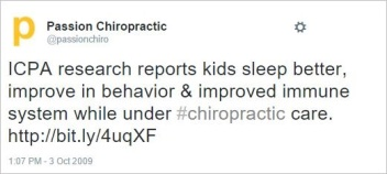 Owen 39 tweet ICPA kids improved immune function
